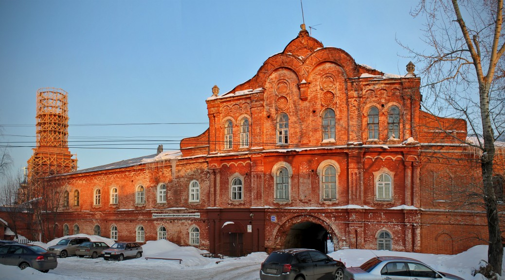 Вятский Спасо-Преображенский Новодевичий монастырь (Киров)